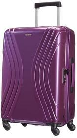 American Tourister by Samsonite Średnia walizka AMERICAN TOURISTER 91A*91002 fioletowy