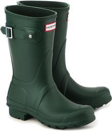 Hunter Original Short - zielony guma Kalosze Damskie - WFS1000RMA GREEN
