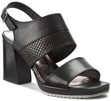Tamaris Sandały - 1-28034-36 Black Leather 003 skóra - licowa