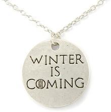 JewelsHall Game of Thrones - Gra o tron naszyjnik Winter is coming