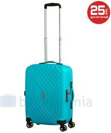 Samsonite AT by Mała kabinowa walizka AT AIR FORCE 1 74401 Turkusowa - turkusowy
