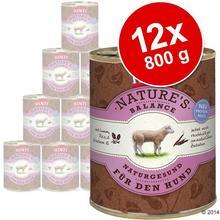 Rinti Korzystny pakiet Nature´s Balance, 12 x 800g - Wołowina, ziemniaki i świe