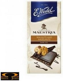 Wedel Maestria Walnuts and Hazelnuts Dark 55% 100g