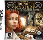 Opinie o Chronicles of Mystery: Curse of the Ancient Temple NDS