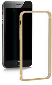 Samsung Ramka ochronna QOLTEC na Galaxy S5 | złota | alu. 51376