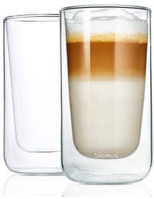 Blomus Szklanki do latte 0,32L Nero 63655 63655