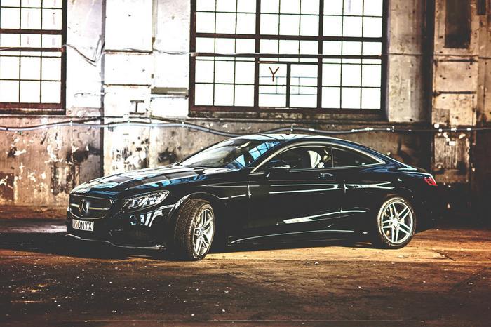 Jazda  Mercedes S500 Coupe - Wiele Lokalizacji