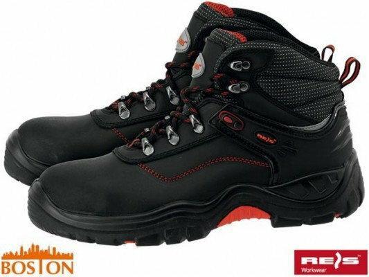 Reis buty Bezpieczne Ze Skóry Bawolej BOSTON