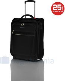 Travelite Mała kabinowa walizka CABIN 90237 Czarna - czarny