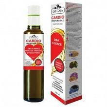 Dr Gaja Mikstura Olei CARDIO Dr Gaja olej lniany, z wiesiołka, z czarnuszki, z ostropestu, suplement diety 250 ml DRGCARDIO