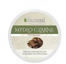Nacomi Mydło w kostce Czarne 100% naturalne 100g