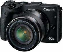 Canon EOS M3 + 18-55mm czarny