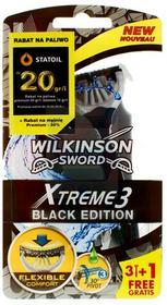 Wilkinson Xtreme3 maszynka do golenia black edition 4 szt.