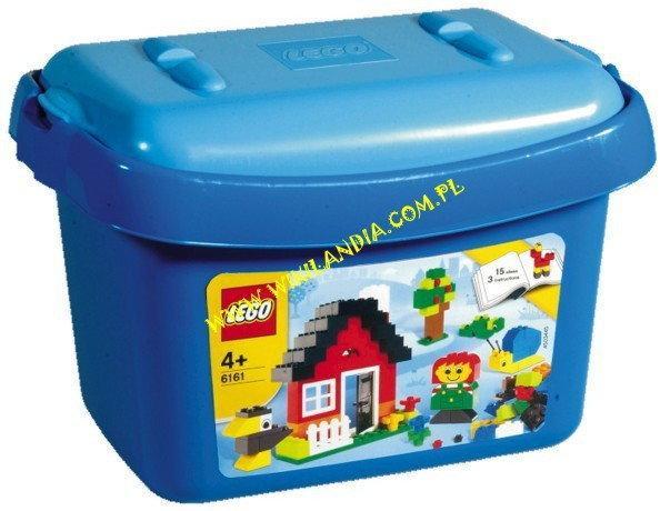 LEGO SYSTEM Creative Building Małe Pudło 6161