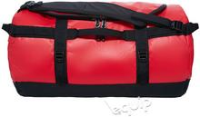 The North Face Torba podróżna Base Camp Duffel S II - red/czarny 50 l 53 x 32 x 3