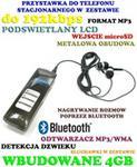 Spy Elektronics Ltd. NOWOŚĆ 2015r.!! Profesjonalny Wielofunkcyjny Dyktafon Cyfro
