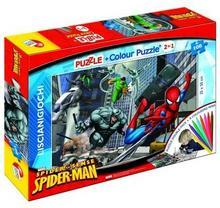 Lisciani Puzzle dwustronne Spider Man 108