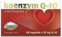 Naturell Koenzym Q10 + Witamina E 120 szt.