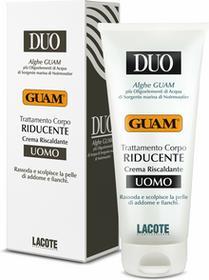 Lacote GUAM Duo Riducente - Crema Riscaldante Uomo - Rozgrzewający krem wyszczuplający dla mężczyzn 200ml