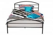 Lak System Łóżka metalowe Łóżko metalowe do sypialni 120x200 WZÓR 19 120