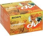 Sony Kaseta MiniDV 60 min zestaw 5 szt 4X1DVM60PR