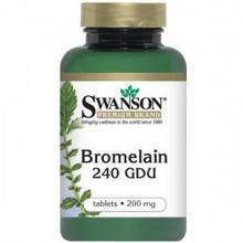 SWANSON Bromelain 240 GDU 100 szt.