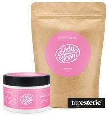 Body Boom Masło Antycellulitowe + Uwodzicielski Oryginał ZESTAW Masło + Peeling kawowy 200 g, 200 g