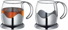 Szklaneczki w stalowym koszyku z uchwytem 2 szt. Kuchenprofi KU-1045612802