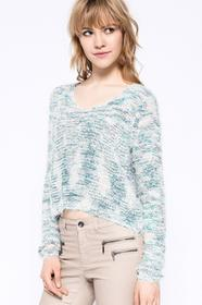 Only Sweter - - Sweter zielony 15111203