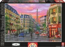 Educa Puzzle Ulice Paryża 5000 elementów