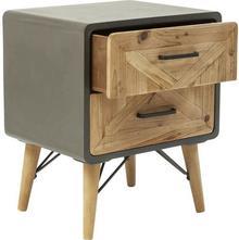 Kare Design Mała komoda szafka nocna X Factory 2 szuflady) 82171