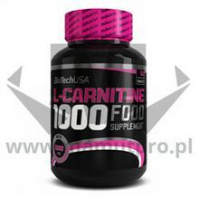 BioTech USA L-Carnitine 1000mg - 60 tab.