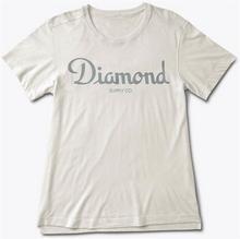 Diamond T-shirt - Champagne Script Tee Cream (CREAM) S