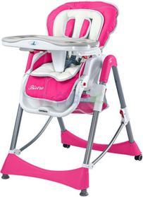 Caretero Krzesełko do karmienia Bistro (różowy) ! Bistro magenta