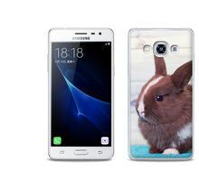Etuo.pl Foto Case - Samsung Galaxy J3 (2017) - etui na telefon Foto Case - brązowy królik ETSM456FOTOFT009000