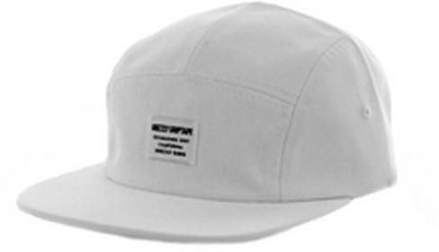 Grizzly czapka z daszkiem CERTIFIED CAMP HAT White WHITE)