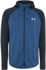 Under Armour Tech Terry Fitted FZ Hoodie Blue