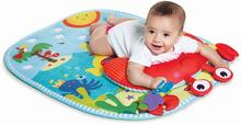 Tiny Love Czas dla brzuszka Gimnastyka dla bobasa z poduszką mata edukacyjna
