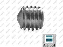 UMAKOV Śruba dociskowa AISI304, M5x5mm A-DIN 914-A2 M5x5