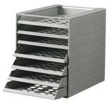 Pojemnik z 7 szufladami do montażu DURABLE IDEALBOX BASIC A4 szary DU254