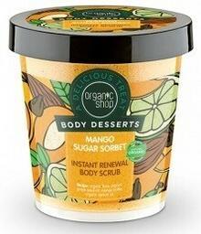 Organic Shop Scrub do Ciała Mango Cukrowy Sorbet 450ml
