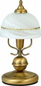 Rabalux klasyczna Lampa stołowa FLOSSI 8812 IP20 Patyna biały