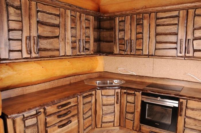 Konar Meble Kolbudy Fronty meblowe kuchenne dębowe RUSTICA 2