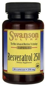 SWANSON Resweratrol 250mg 30 szt.