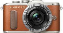 Olympus Pen E-PL8 body brązowy