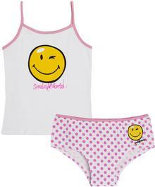 Odzież licencyjna Komplet bielizny dziewczęcy Smiley World