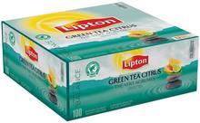Lipton Zielona herbata Classic Green Tea Citrus 100 kopert