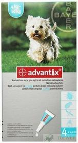 Bayer ADVANTIX Spot-On M Pies 4-10kg 4szt. *TYLKO ODBIÓR WŁASNY*