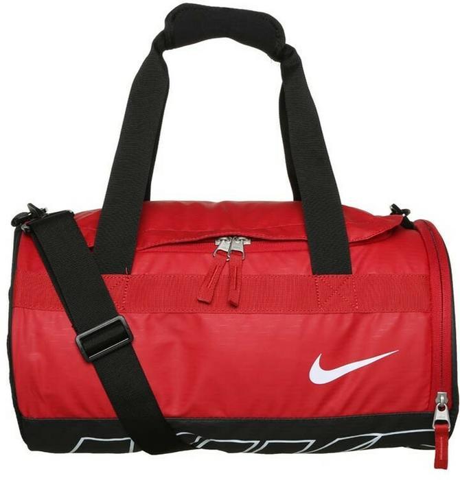 08af30bd885fa Nike Performance DRUM Torba sportowa gym red black white BA5185 – ceny