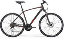 Merida Rower CROSSWAY 100 grafitowo-czerwony